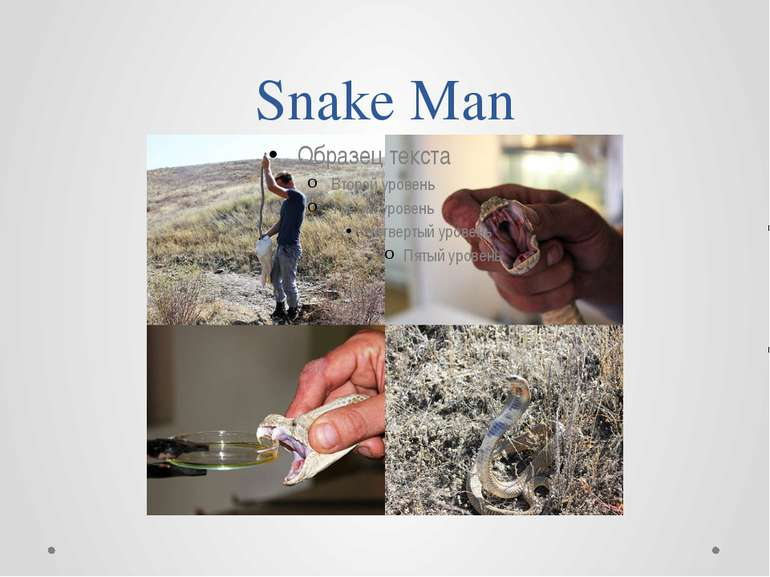 Snake Man