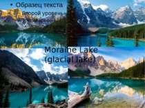 Moraine Lake (glacial lake)