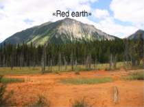 «Red earth»