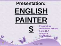 """English painters"""
