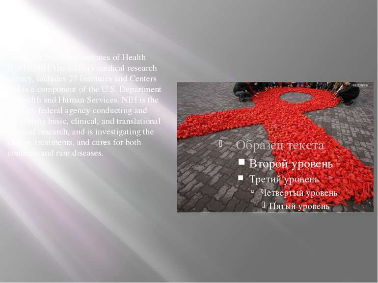 About the National Institutes of Health (NIH): NIH, the nation's medical rese...