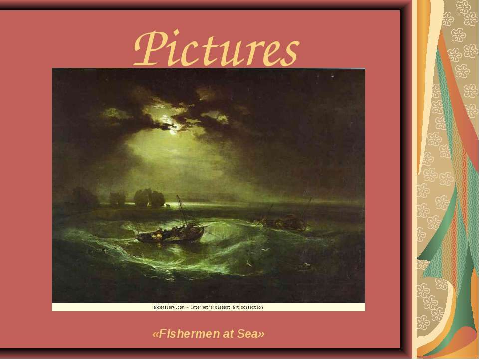 Pictures «Fishermen at Sea»