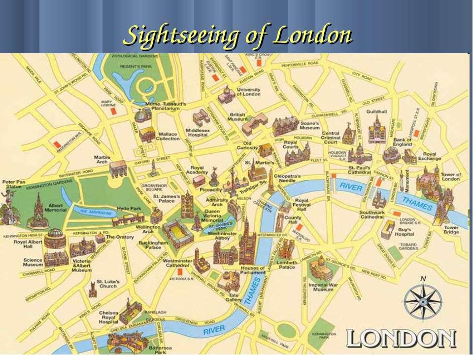 Sightseeing of London