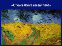 «Crows above cereal field»
