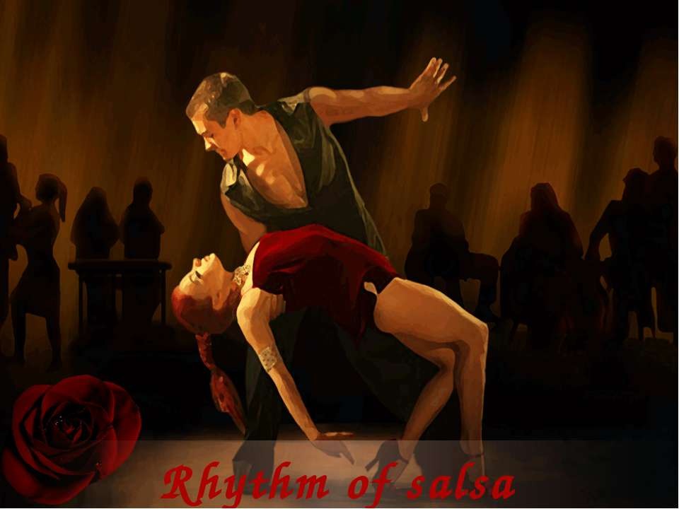 Rhythm of salsa