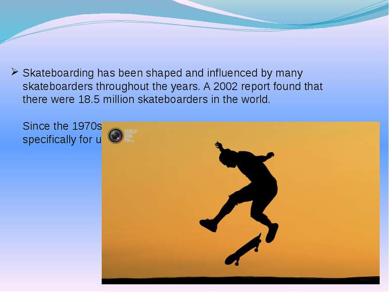 Skateboarding has been shaped and influenced by many skateboarders throughout...