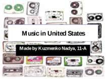 """Music in United States"""