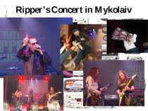 Ripper's Concert in Mykolaiv