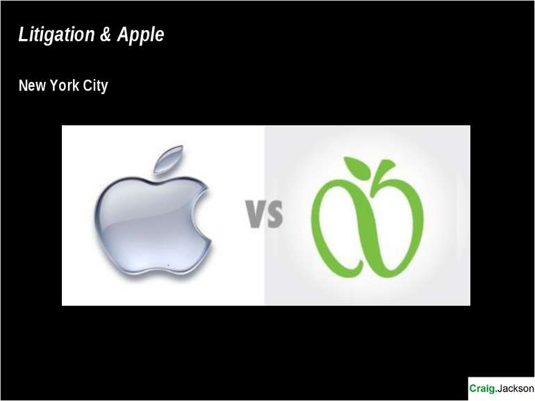 Litigation & Apple New York City