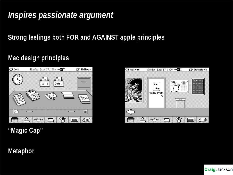 Inspires passionate argument Strong feelings both FOR and AGAINST apple princ...