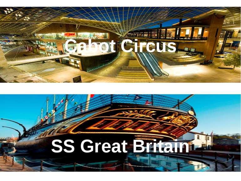 Cabot Circus SS Great Britain