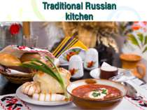 Traditional Russian kitchen