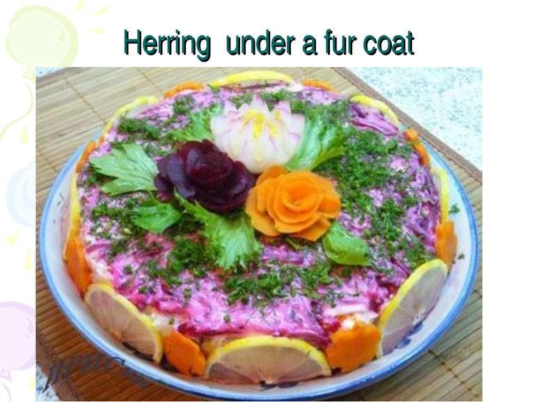 Herring under a fur coat