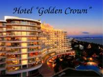 """Hotel ""Golden Crown"""""