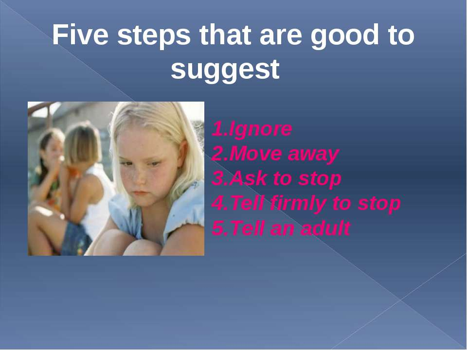 Test 1 . If someone bullied me, I would….. 2 . If someone bullied me, I would...