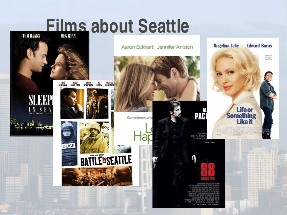 Films about Seattle