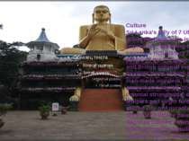 Culture Sri Lanka's tally of 7 UNESCO World Heritage Sites is truly impressiv...