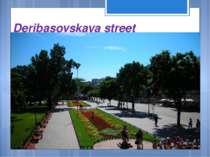 Deribasovskaya street