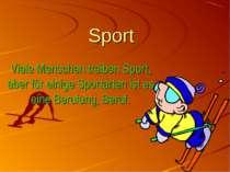 Sport Viele Menschen treiben Sport, aber für einige Sportarten ist es eine Be...