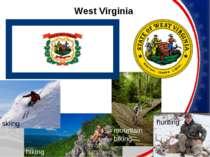 West Virginia skiing hiking mountain biking hunting