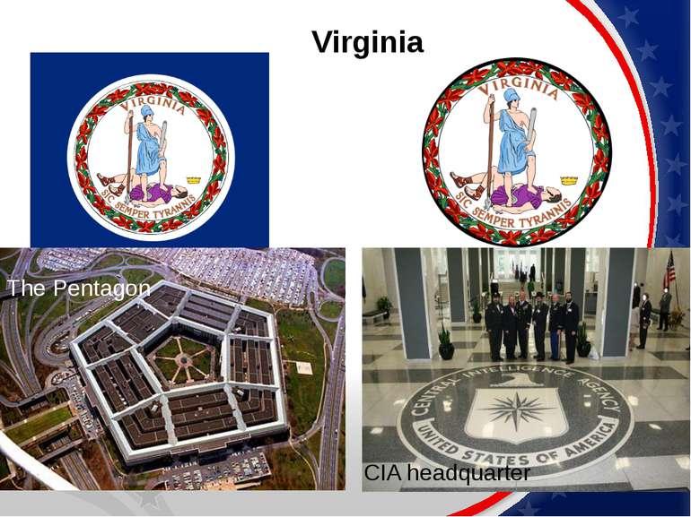 Virginia The Pentagon CIA headquarter