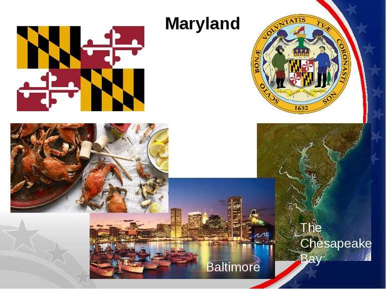 Maryland The Chesapeake Bay Baltimore