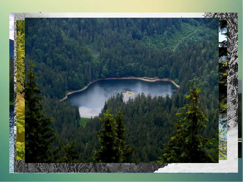 3. Lake Synevyr The picturesque corner of Ukrainian Carpathians lake located ...