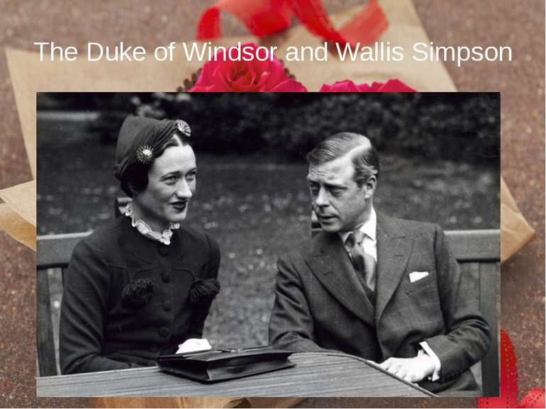 The Duke of Windsor and Wallis Simpson