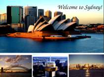 Welcome to Sydney!