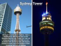 The highest point above Sydney. Take a breathtaking 360-degree view of the be...