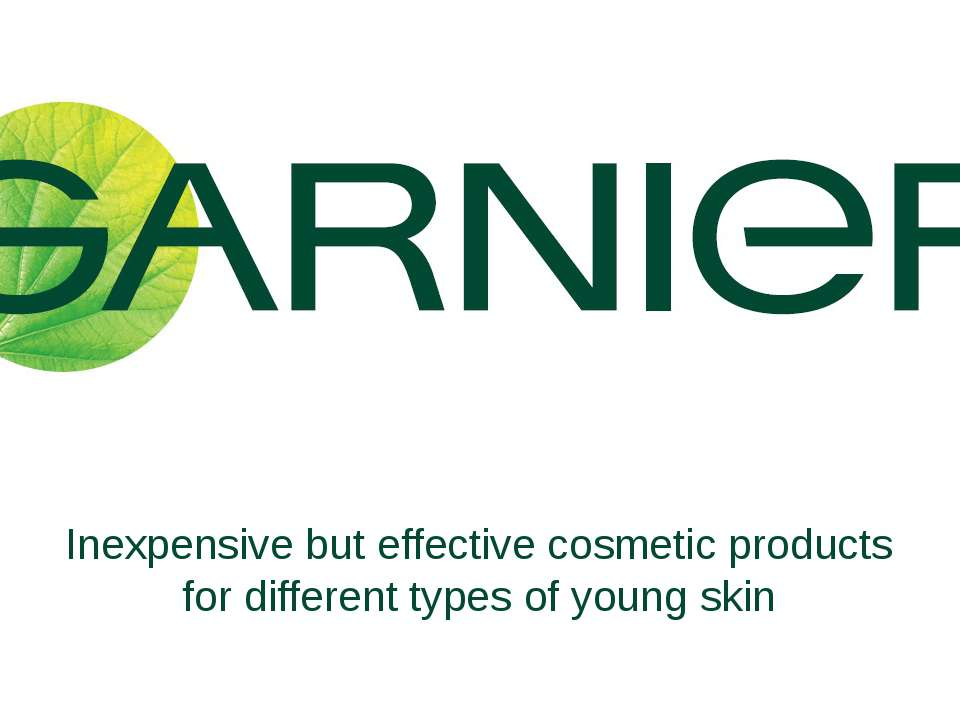 Inexpensive but effective cosmetic products for different types of young skin