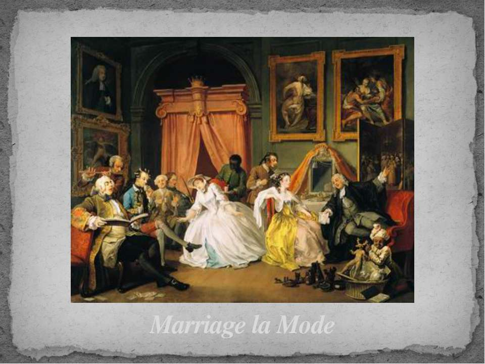 Marriage la Mode