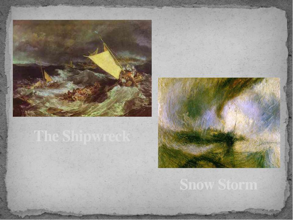 The Shipwreck Snow Storm
