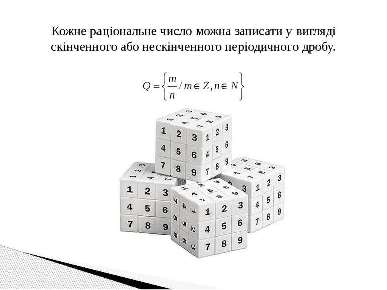 Кожне раціональне число можна записати у вигляді скінченного або нескінченног...