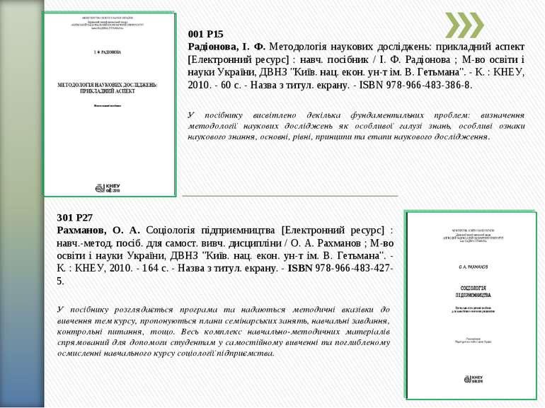001 Р15 Радіонова, І. Ф. Методологія наукових досліджень: прикладний аспект [...