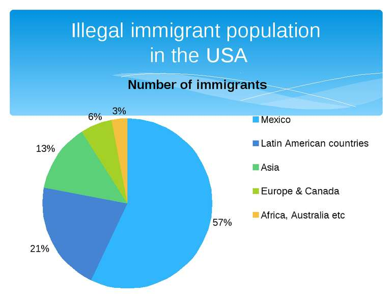 Illegal immigrant population in the USA