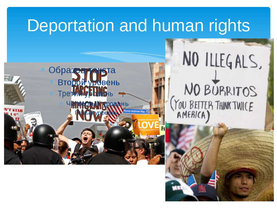 Deportation and human rights