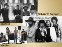 Marbin Brand-X Return To Forever