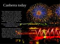 Canberra today Today Canberra has become a hub for western New South Wales, a...