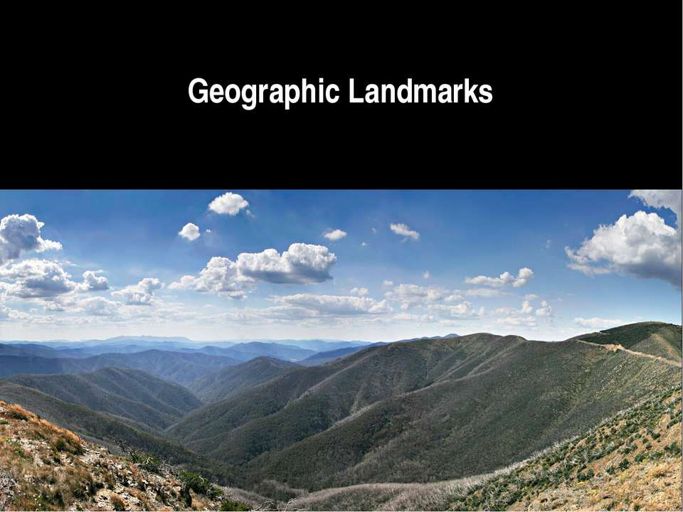 Geographic Landmarks