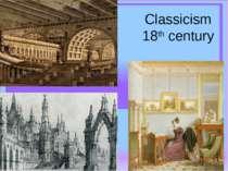 Classicism 18th century