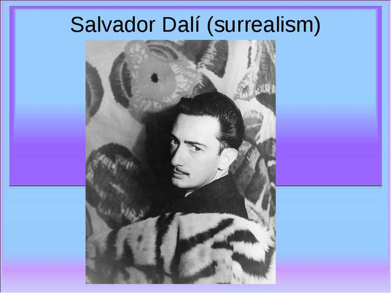 Salvador Dalí (surrealism)