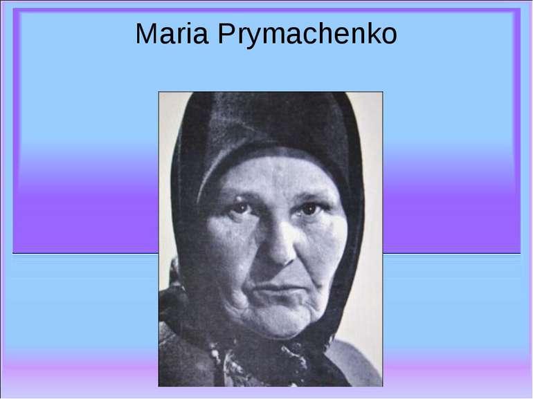 Maria Prymachenko