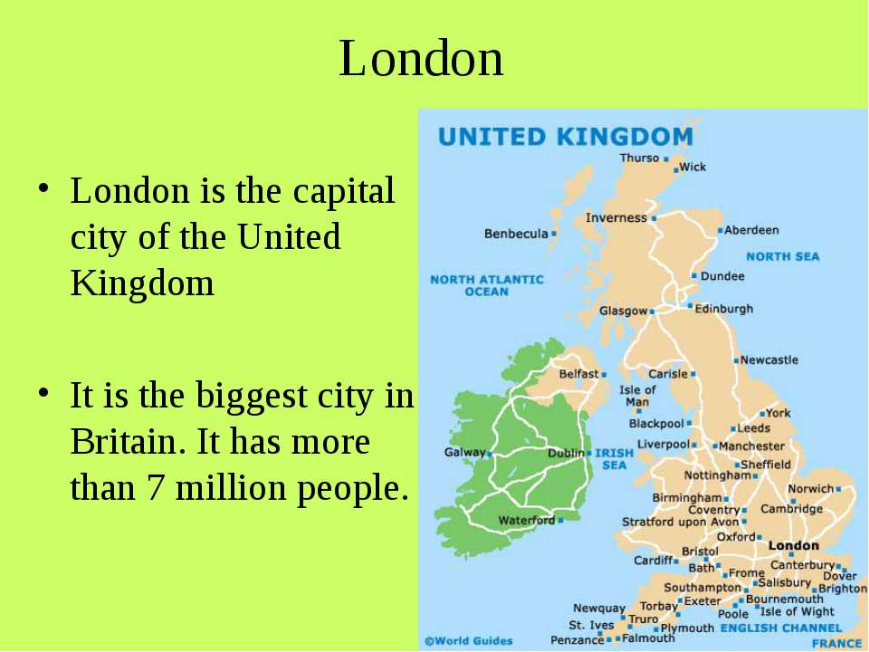 London London is the capital city of the United Kingdom It is the biggest cit...
