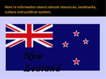 Here is information about natural resources, landmarks, culture and political...
