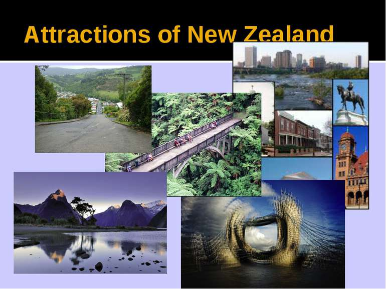 Attractions of New Zealand