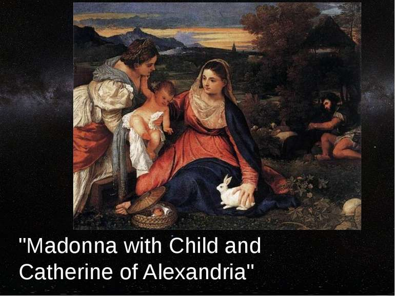 """Madonna with Child and Catherine of Alexandria"""