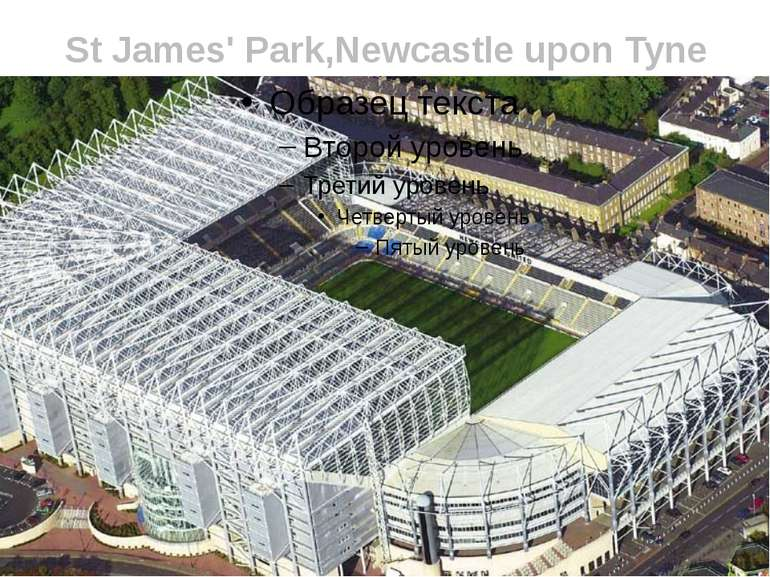 St James' Park,Newcastle upon Tyne