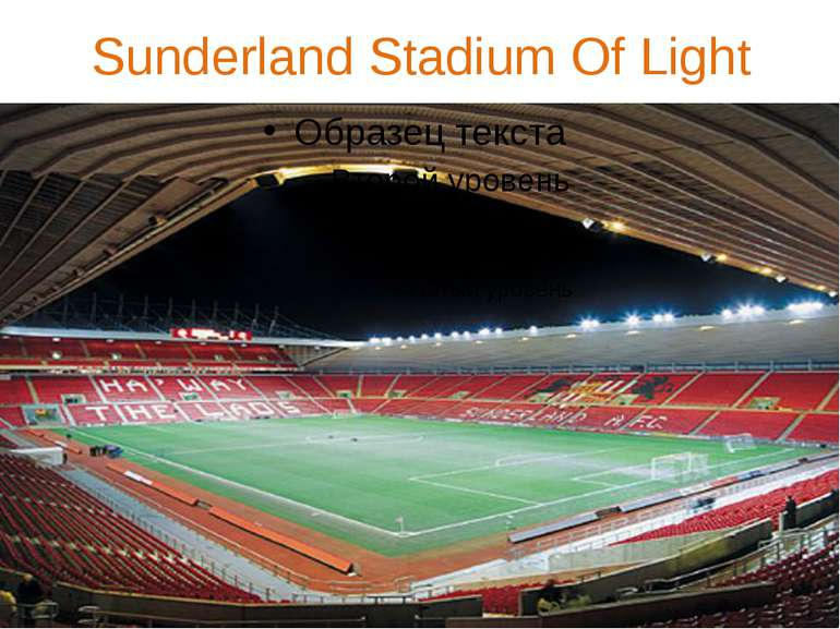 Sunderland Stadium Of Light