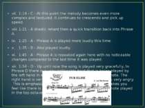 vii. 1:14 - C - At this point the melody becomes even more complex and textur...